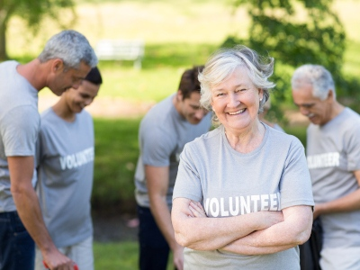 You can Volunteer